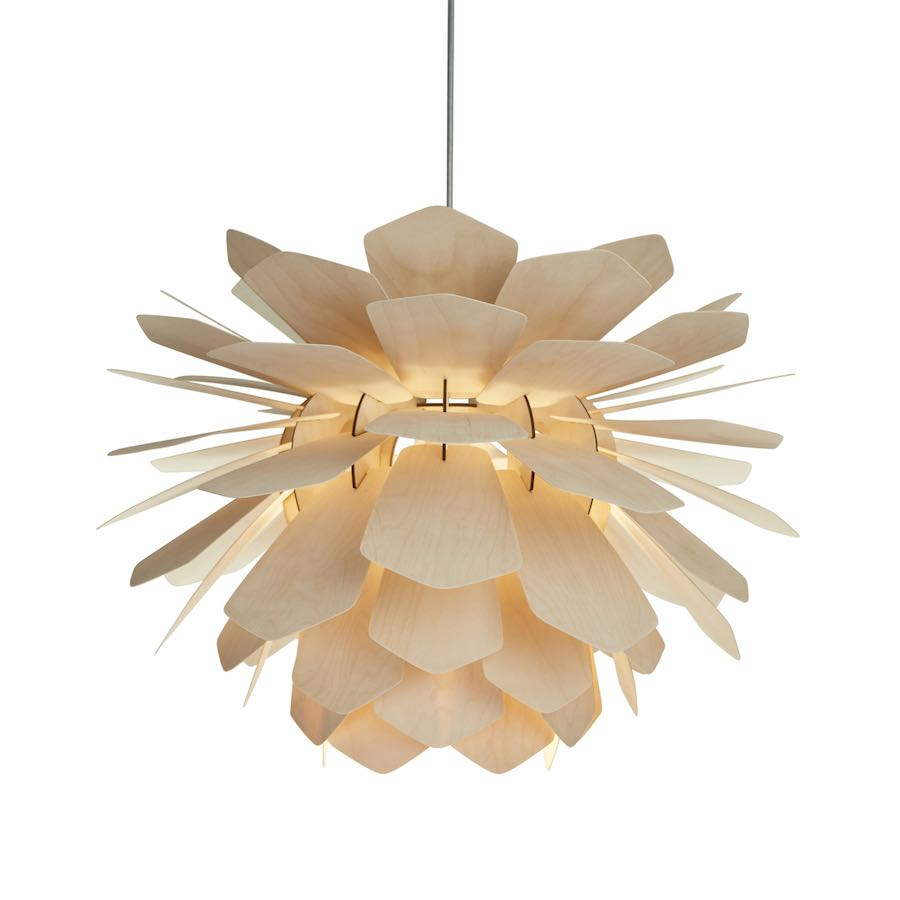 La Pigne | pine cone pendant light