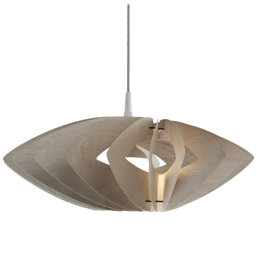 Margarita | modern ceiling light made of plywood