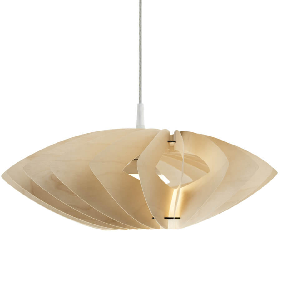 Margarita Margarita Natural | modern pendant light made of plywood