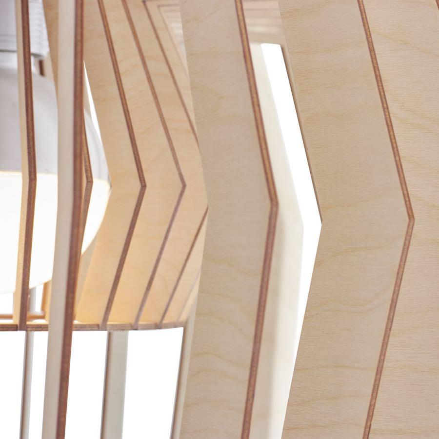 Equi wooden pendant light - lampe aus holz