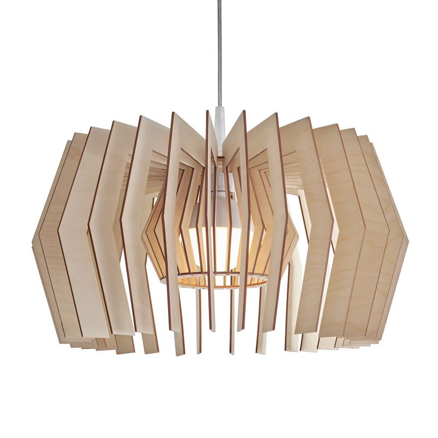 Equi wooden pendant light - lampe aus holz