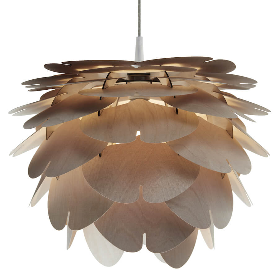 Aiko | wooden pendant light