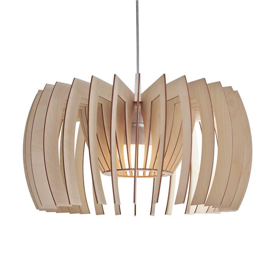 Yoko wooden pendant light - lampe aus holz