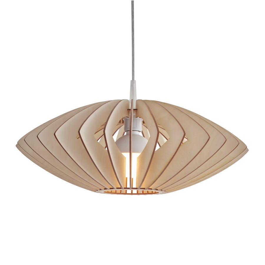 Axia pendelleuchte aus holz - wooden pendant light