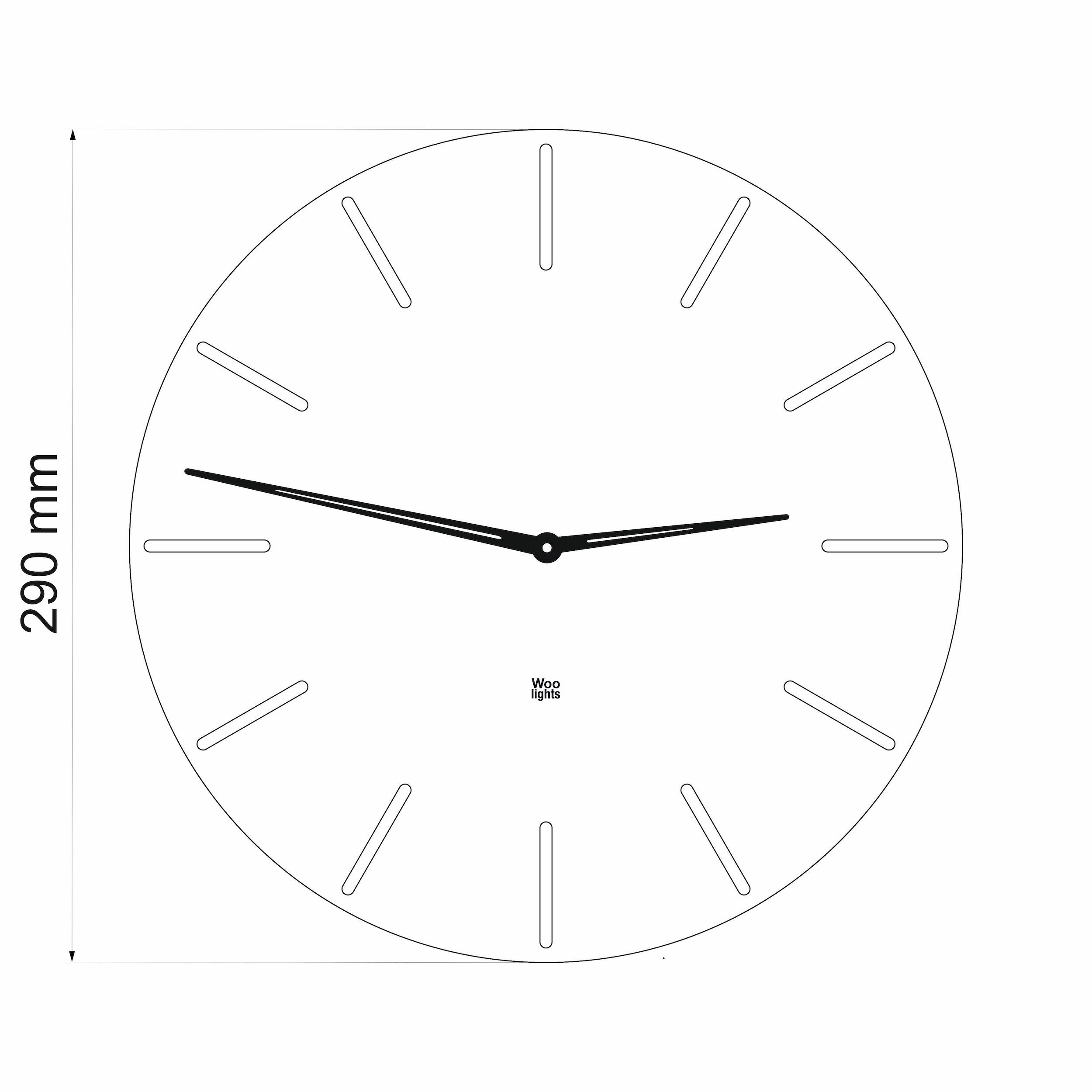 Wall clock N˚2.1 AWB