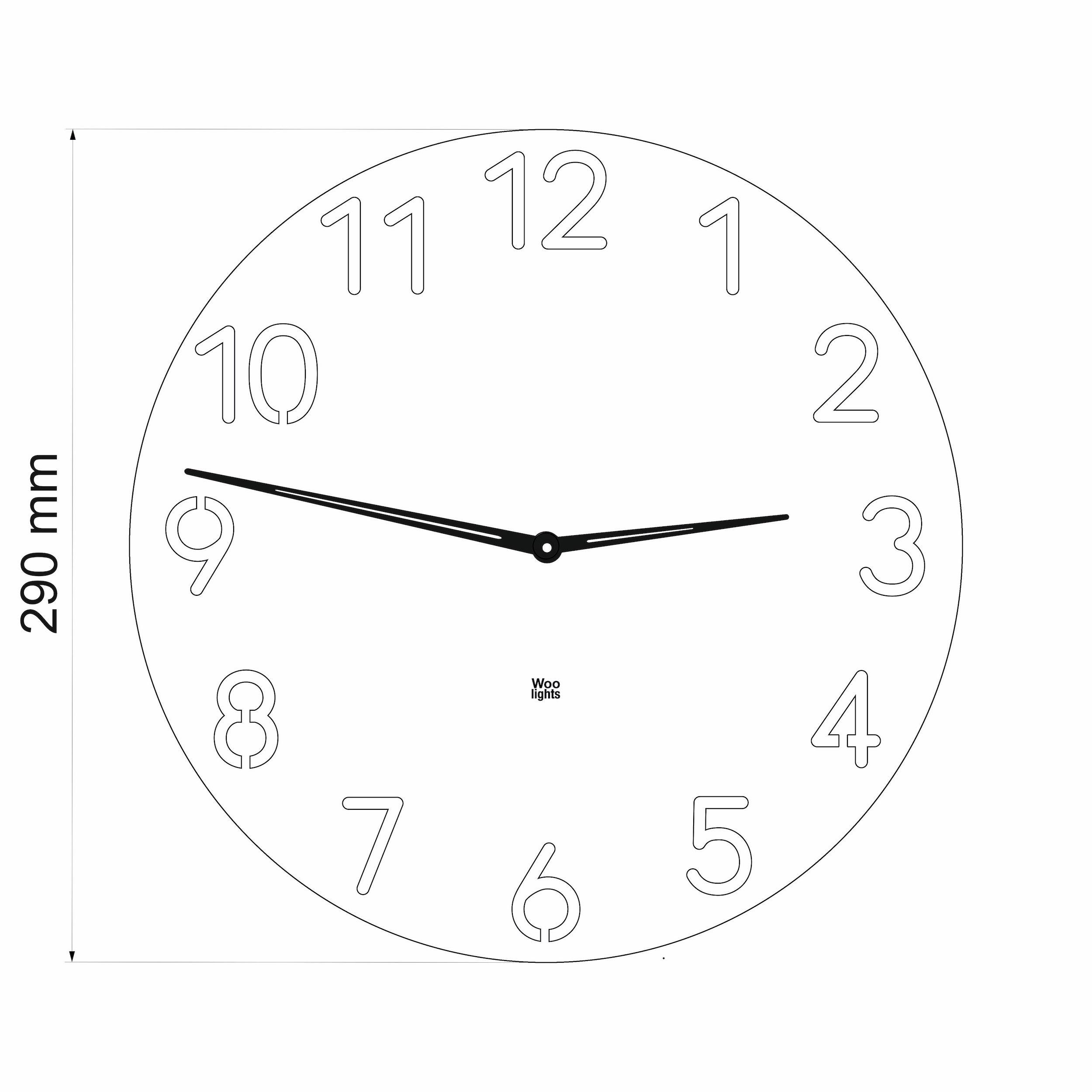 Wall clock N˚3.1 OB